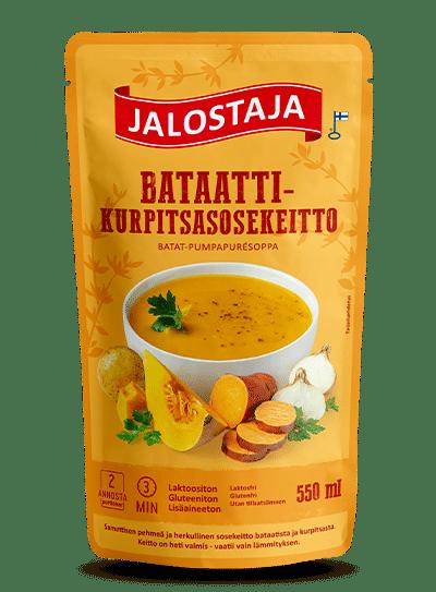 Jalostaja Bataatti-kurpitsasosekeitto 550 ml – Jalostaja