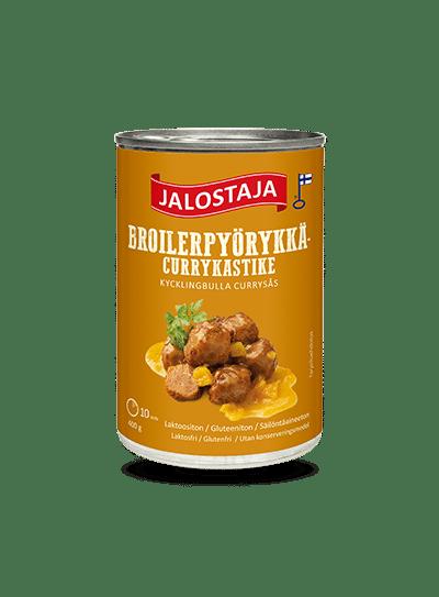 Jalostaja Broilerpyörykkäcurrykastike 400 g – Jalostaja