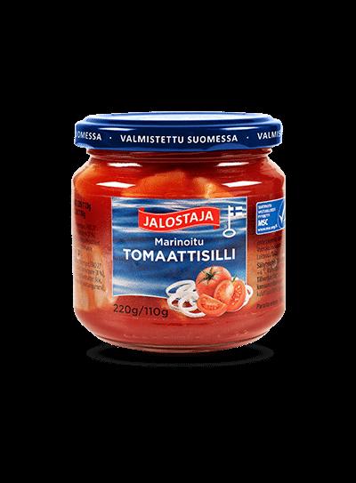Jalostaja Marinoitu Tomaattisilli 220/110 g – Jalostaja