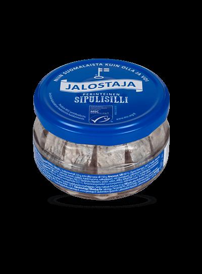 Jalostaja Perinteinen Sipulisilli 250/150 g – Jalostaja