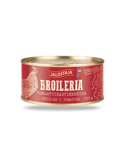 Jalostaja Broileria tomaattikastikkeessa 200 g – Jalostaja
