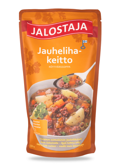 Jalostaja Jauhelihakeitto 550 ml – Jalostaja