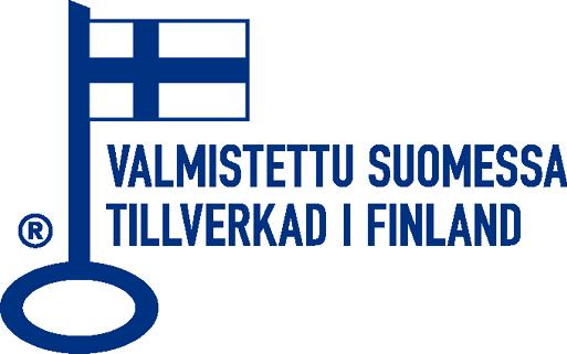 Avainlippu-tuote –Valmistettu Suomessa